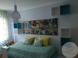 Cuartos infantiles de estilo moderno por Andreia Louraço - Designer de Interiores (Contacto: atelier.andreialouraco@gmail.com)