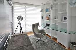 FORUM PUERTO NORTE : Estudios y oficinas de estilo moderno por Barsante Disegno
