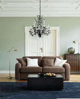 Projekty,  Salon zaprojektowane przez Domicil Möbel GmbH