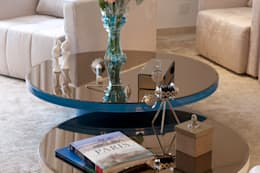 Гостиная в . Автор – Sandra Sanches Arq e Design de Interiores