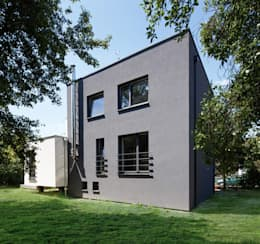 Casas de estilo minimalista por Zalewski Architecture Group