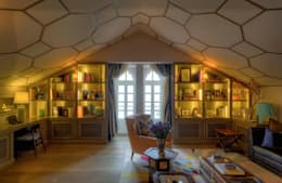 eclectic Study/office by Viterbo Interior design