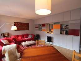 Réhabilitation d'un appartement à Strasbourg: Salon de style de style Moderne par Ae-design