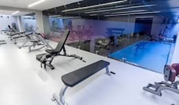 .NESS Reklam ve Fotoğrafçılık – Mera Suites Residence Mekan Çekimi: modern tarz Fitness Odası