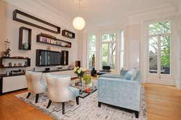 Kensington Lateral Apartment :   by NSI DESIGN LTD