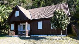 Casas de estilo rural por LOFTAPM II DESIGN DEC INTERIORES LDA