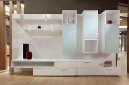 Wall Unit - Mitho: Livings de estilo moderno por Michael Thonet