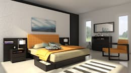modern Bedroom by Michael Thonet
