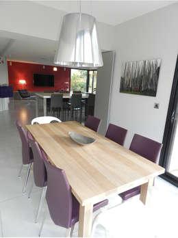 Exemples de réalisations de particulier: Salle à manger de style de style Moderne par Idées dans la maison