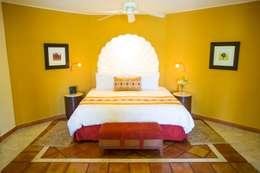 eclectic Bedroom by MC Design