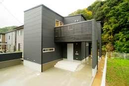 緑洞の家 外観: フォーレストデザイン一級建築士事務所が手掛けたです。