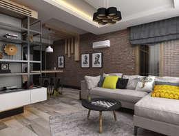 Salas / recibidores de estilo minimalista por Ceren Torun Yiğit