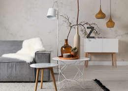 modern Living room by designbotschaft GmbH