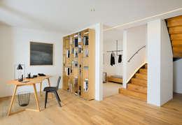 Corridor, hallway by Bau-Fritz GmbH & Co. KG