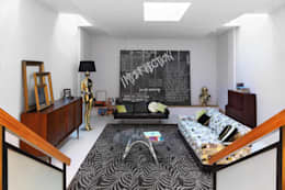 eclectic Living room by niche pr