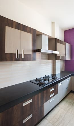 GOMBER RESIDENCE : modern Kitchen by Total Interiors Solutions Pvt. ltd.