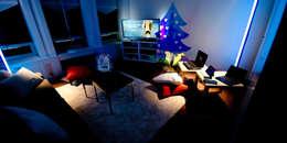Le loft du père Nöel: Salon de style de style Moderne par REGH'S