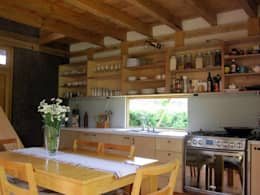 rustic Kitchen by MORO TALLER DE ARQUITECTURA
