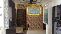 Pasillos y recibidores de estilo  por Alaya D'decor