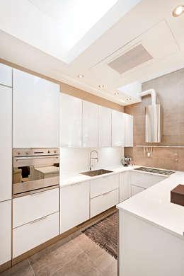 Projekty,  Kuchnia zaprojektowane przez BRANDO concept