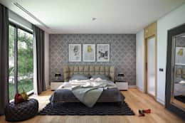 modern Bedroom by BUUN MOTTO ARCHITECTS