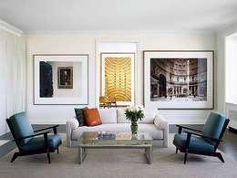 moderne Woonkamer door Casa de Valentina