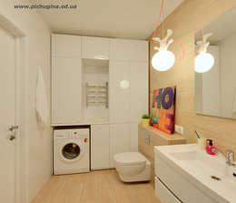 Baños de estilo escandinavo por Tatyana Pichugina Design