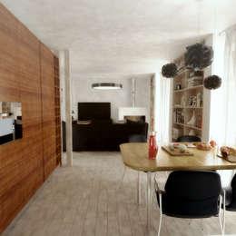 Salas de jantar modernas por Rúben Ferreira   Arquitecto