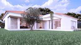 Casas de estilo moderno por Rúben Ferreira   Arquitecto