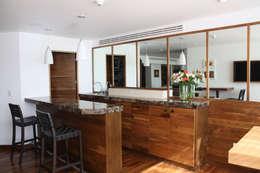 Departamento Frondoso- Boué Arquitectos : Casas de estilo moderno por Boué Arquitectos