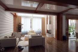 classic Living room by Design studio of Stanislav Orekhov. ARCHITECTURE / INTERIOR DESIGN / VISUALIZATION.