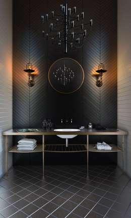 Baños de estilo escandinavo por Ezra YAZICI