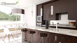 modern Kitchen by Iluminature