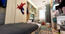 HePe Design interiors – Selective Prestige: modern tarz Çocuk Odası