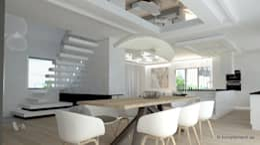 scandinavian Dining room by Komplementi