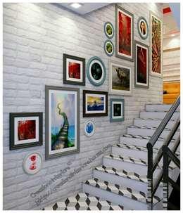 Staircase Design :   by Creazione Interiors