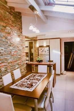 Remodelación Interior Vivienda: Comedores de estilo moderno por D&C Interiores