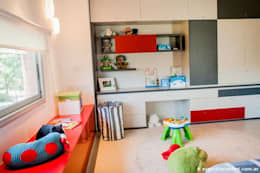 Vivienda en Grand Bell: Dormitorios infantiles de estilo moderno por AMADO arquitectos