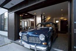 Garajes de estilo moderno por homify