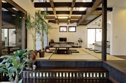 ロ・ハウス・ギャラリーⅡ: MOTHERS'HOME 建築士事務所が手掛けたダイニングです。