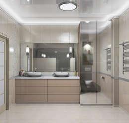 eclectic Bathroom by АЛЕКСАНДР ЕЛАШИН. СТУДИЯ ДИЗАЙНА ЭЛИТНЫХ ИНТЕРЬЕРОВ.