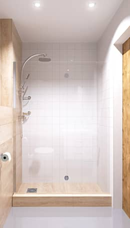 scandinavian Bathroom by homify