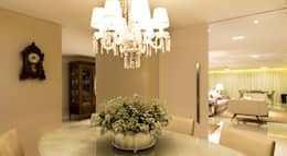 Detalhes   Sala de Jantar: Salas de jantar clássicas por AC Arquitetura