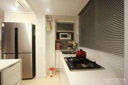 내추럴한 느낌의 16평 신혼집: 홍예디자인의  주방