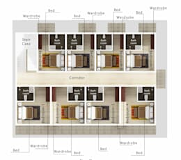 Interior Layout:  Hotels by Space Interface