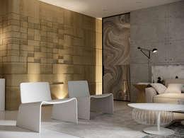 minimalistic Living room by AShel
