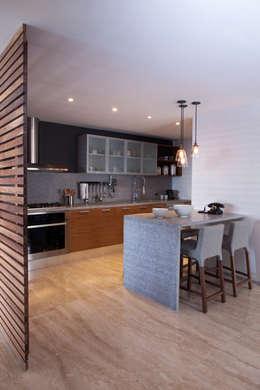 Cocinas de estilo moderno por Basch Arquitectos