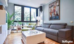 modern Living room by iloftyou