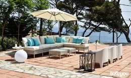 Balcones y terrazas de estilo mediterraneo por iloftyou