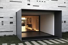 guedes cruz arquitectos의  복도 & 현관